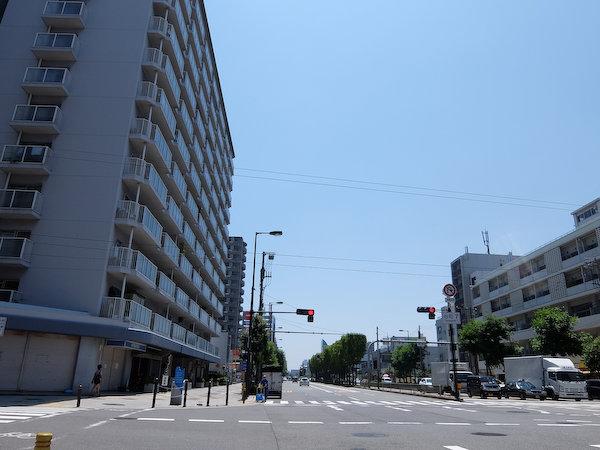 大阪の怒涛の暑さの中で市内ポタリング