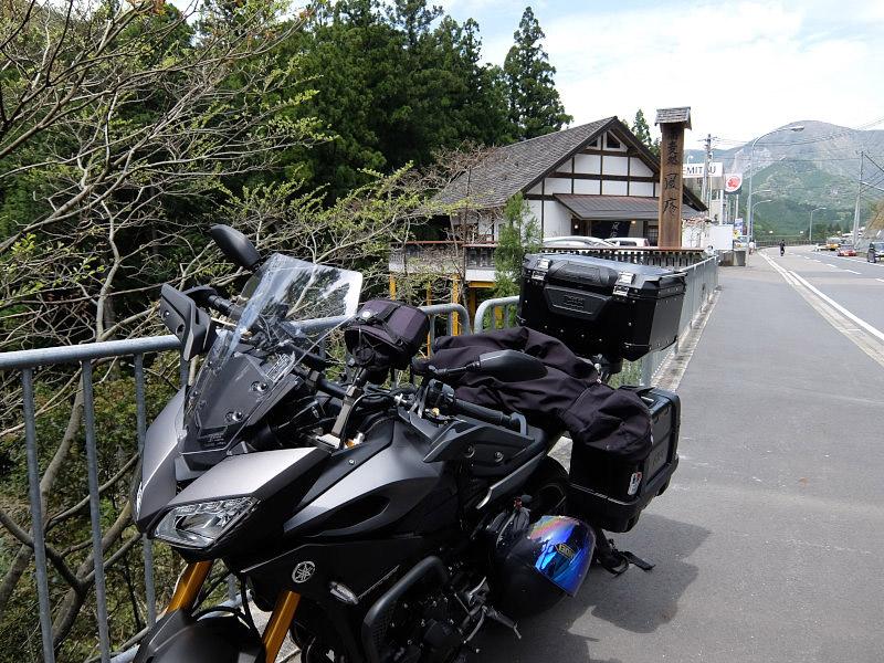 とりあえず谷瀬の吊橋へ!奈良県吉野へお泊りツーリング1