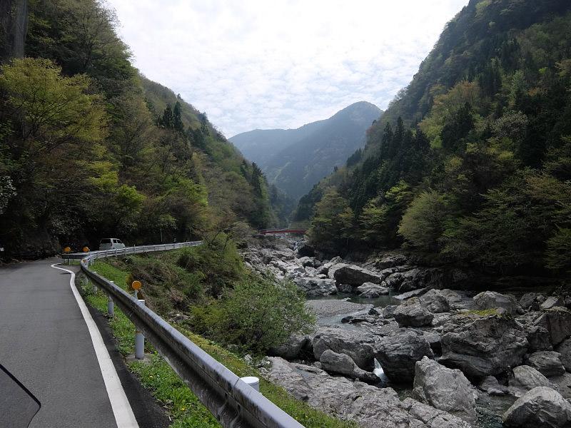 みたらい渓谷へ!奈良県吉野へお泊りツーリング4