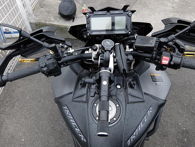 バイク車載動画比較(ハンドル直付と3軸ジンバル)