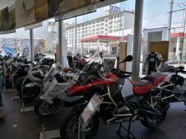 BMW Motorradに遊びに行った