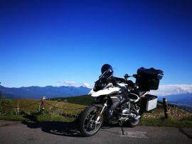 BMW Motorrad Days 2017 へ ① (2017/09/08)
