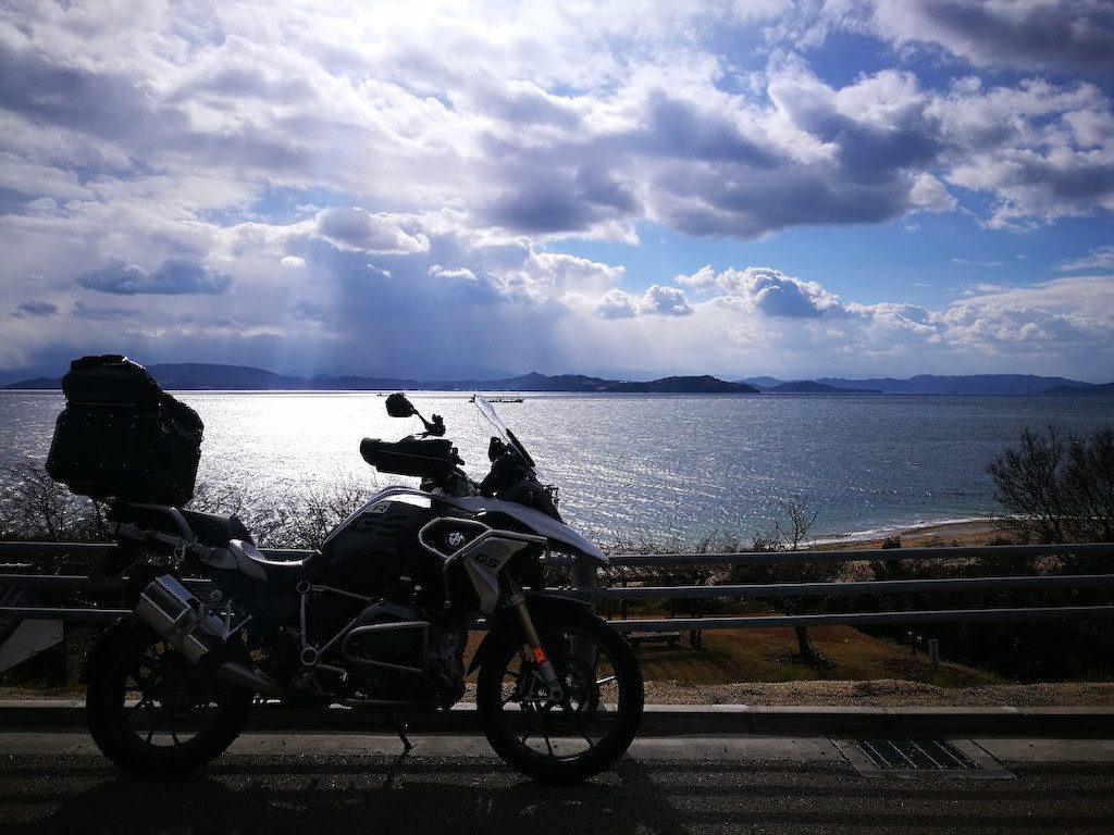 小豆島への日帰りツーリング(2018/01/03)